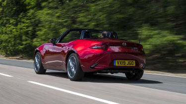 Mazda MX-5 LT tracking