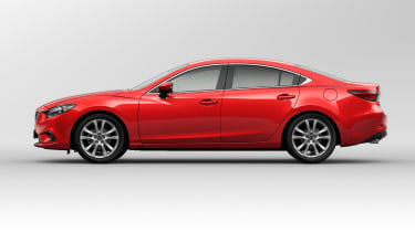Mazda 6 side profile