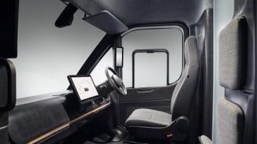 Arrival electric van - interior