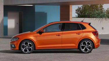 New Volkswagen Polo R-Line - side