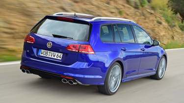 It's powered by a 2.0-litre turbo petrol engine, putting out 297bhp and driven through all four wheels.