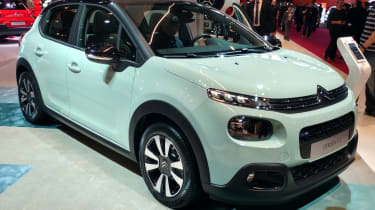 New Citroen C3 - Paris front