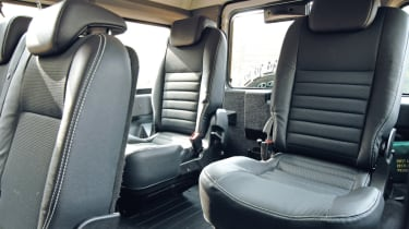 Land Rover Defender rear seats