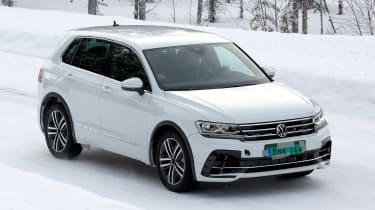Volkswagen Tiguan R - spyshot 10
