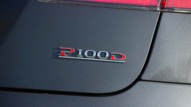 Tesla Model S P100D - P100D badge