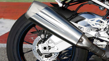 BMW S1000RR Sport exhaust