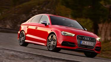 Audi S3 Saloon 2013 front action