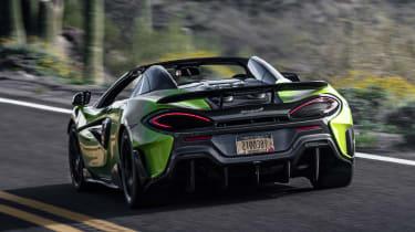 McLaren 600LT Spider - rear action