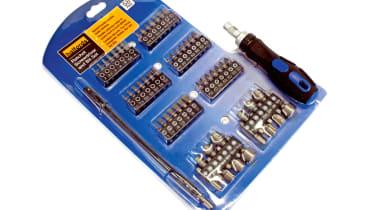 Halfords 58pc Ratchet Screwdriver and Bit Set