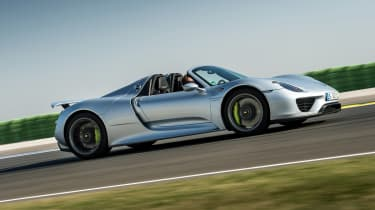 The 918 is the fastest road-going Porsche ever.