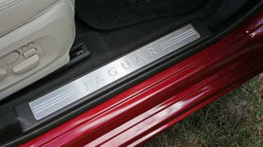 Used Jaguar XF - sill