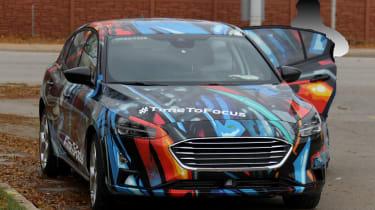 2018 Ford Focus Hatchback spy front