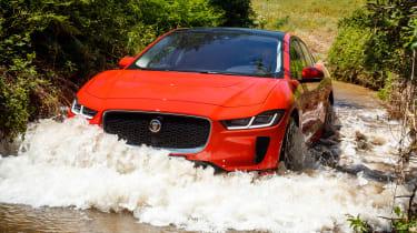 Jaguar I-Pace - front water