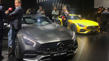 Mercedes-AMG GT C Edition 50 and AMG GT S 2017 - show front