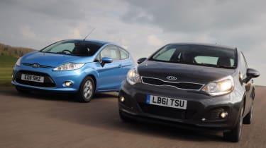 Kia Rio vs Ford Fiesta