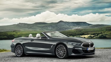 BMW 8 Series Convertible - side/front static