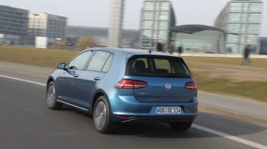 Volkswagen e-Golf 2014 left rear