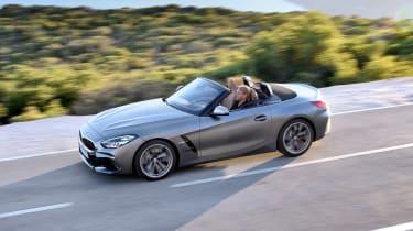 BMW Z4 - above