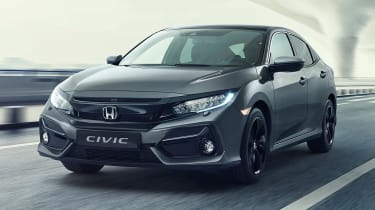 Honda Civic 2020 - front 3/4 static
