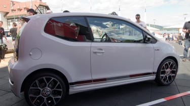 Volkswagen up! GTI Worthersee reveal side
