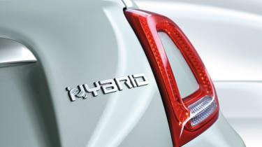 Fiat 500 hybrid - brake light