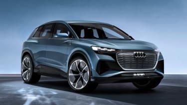 Audi Q4 e-tron concept - front