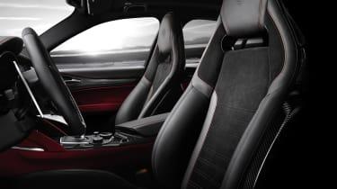 Alfa Romeo Giulia Nurburgring seats