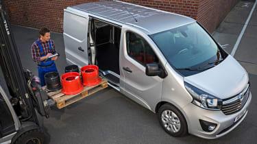 Vauxhall Vivaro loading