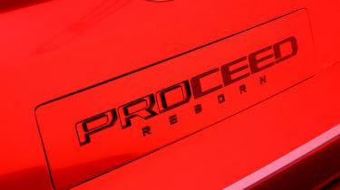 Kia Proceed concept - Frankfurt badge