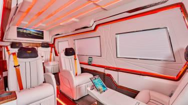 Klassen Sprinter VIP armoured interior red