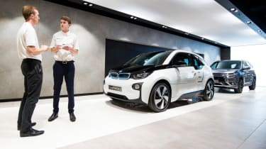 Electric Vehicle Experience Centre - BMW i3