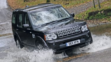 Land Rover Discovery 4 SDV6 HSE front