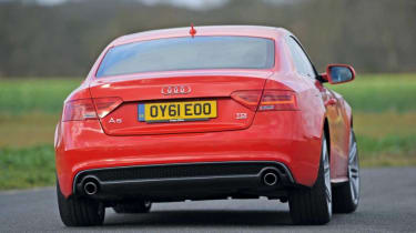 Used Audi A5 Coupe - rear action