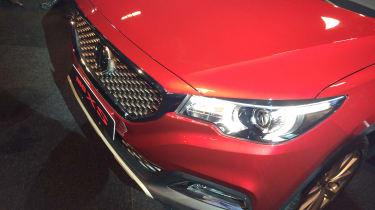 MG XS headlight