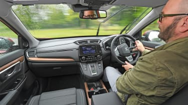 Honda CR-V: long-term test - Darren driving