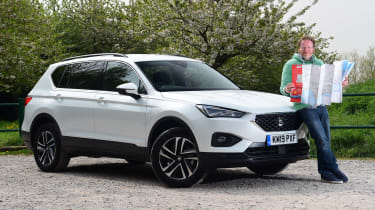 SEAT Tarraco long-termer - first report header