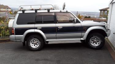 Brian Sharp's Mitsubishi Pajero