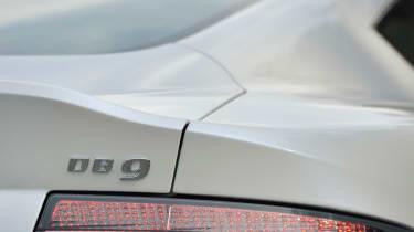 New Aston Martin DB9 badge