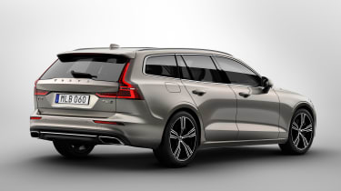Volvo V60 - rear studio