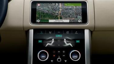 Updated Range Rover - sat-nav
