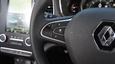 Renault Megane long term test - steering wheel