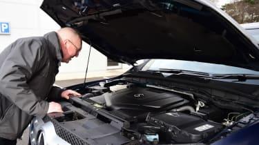 Mercedes X 350 d long-term test - second report Kim Adams