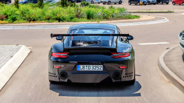 Porsche GT2 RS prototype - full rear