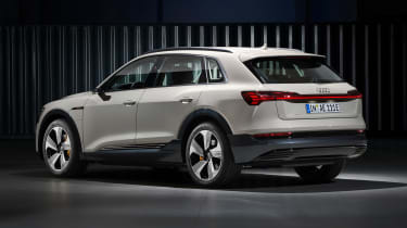 Audi e-tron - white rear