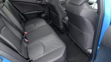 Toyota Prius - rear seat
