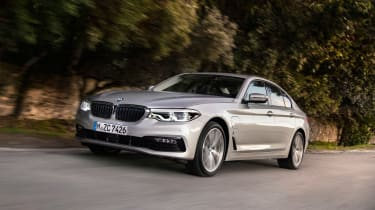 BMW 530e 2017 front side