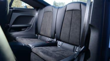 Audi TT Ultra - rear seats