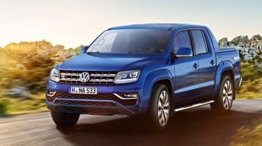 Volkswagen Amarok V6 - front cornering