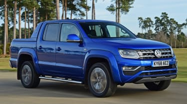 vw amarok tracking front quarter
