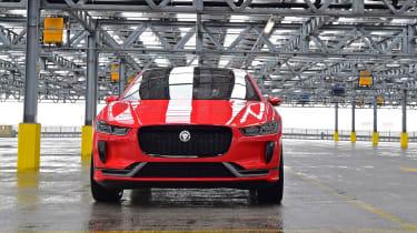 Jaguar I-Pace prototype 2017 - front